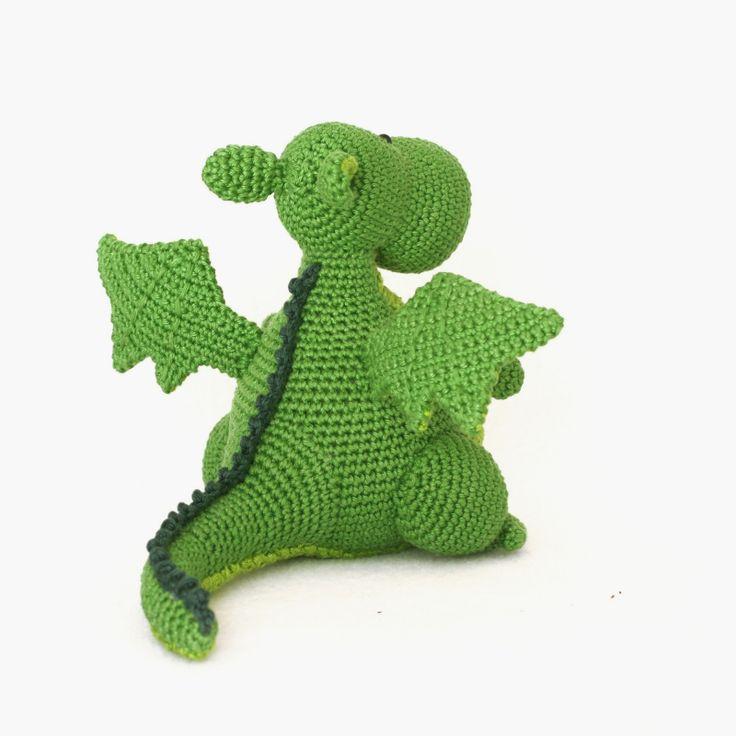 Yoki the Dragon  amigurumi pattern by DIY Fluffies