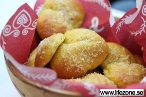 Lussebullar LCHF #jul #recept