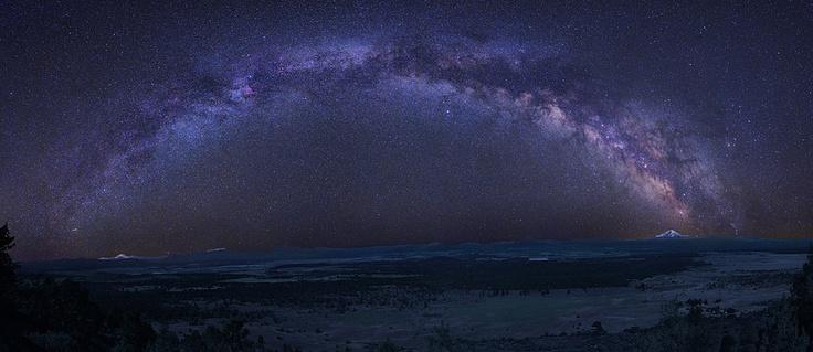 the Milky way from Alaska