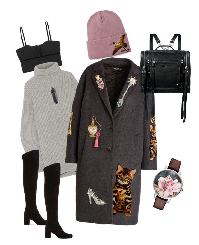 """""""Movies#234"""" by jennykenny-1 on Polyvore featuring Alexander McQueen, Acne Studios, Ted Baker, Dolce&Gabbana, Dsquared2, McQ by Alexander McQueen and Yves Saint Laurent"""
