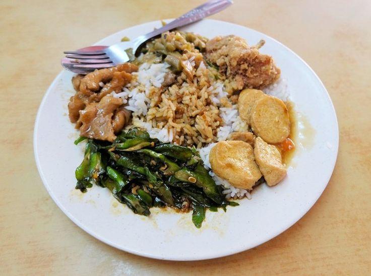 Economy Rice @ The Old Restoran Jia Xiang (opposite the Pudu Shopping Complex), jalan Brunei Utara, Pudu - courtesy of HungryGoWhere