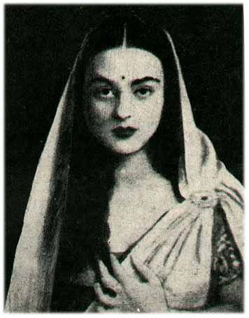 Indian painter Amrita Sher-Gil (1913-1941)
