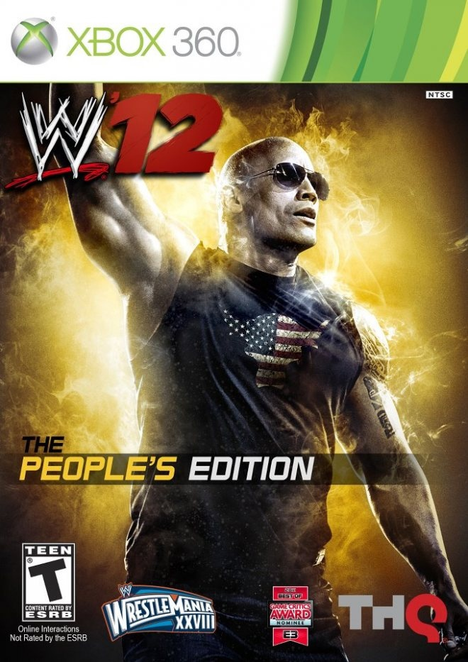 Backyard Wrestling Xbox 360 Part - 30: Wwe 12 People´s Edition Cover