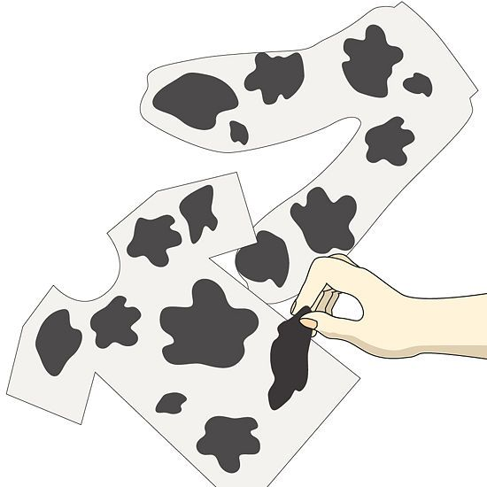 8 Tips on How to Make a Cow Costume - wikiHow