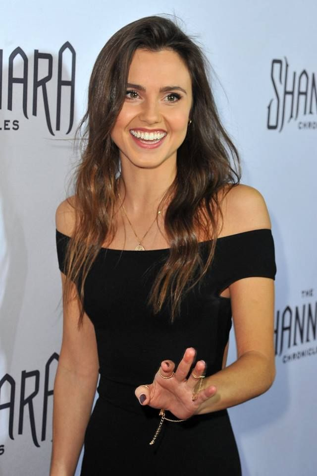 Poppy Drayton (Princess Amberle) in Los Angeles, California.