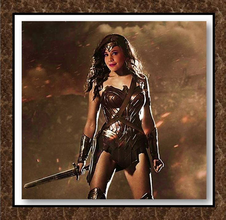 Morgan Hoffman as the new Wonder Woman.