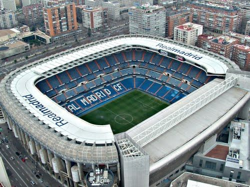 Estadio Santiago Bernabeu - Real Madrid CF Stadium
