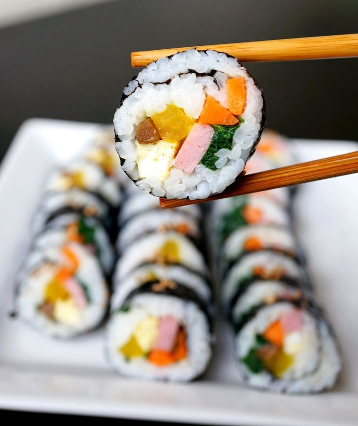 Miss Hangrypants: Easy Kimbap - 김밥