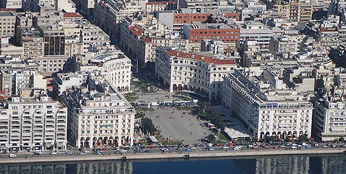 Αξιοθέατα Θεσσαλονίκης - Thessaloniki Πλατεία Αριστοτέλους