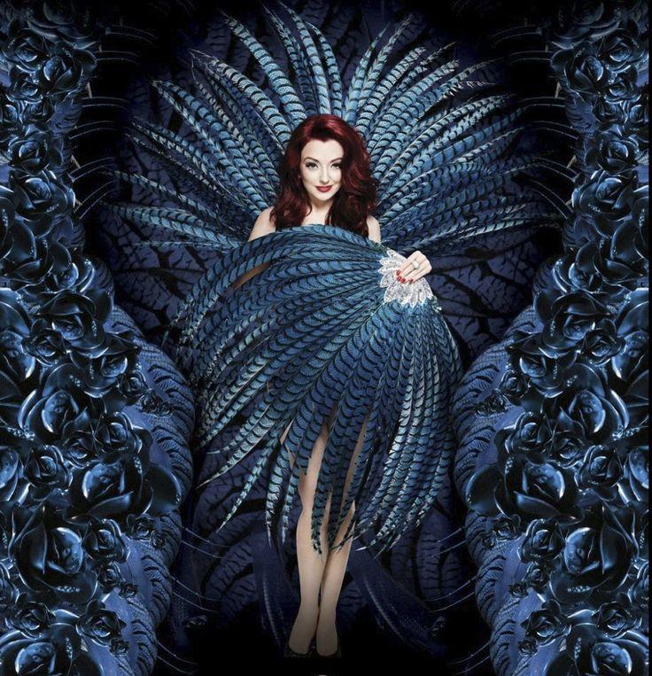 British showgirl Miss Polly Rae