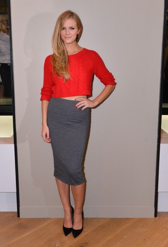 Brooklyn Decker: EXPRESS Union Square Grand Opening Event -03