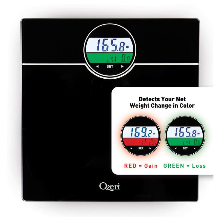 WeightMaster 400 lbs. Digital Bath Scale with BMI and Weight Change Detection, Black