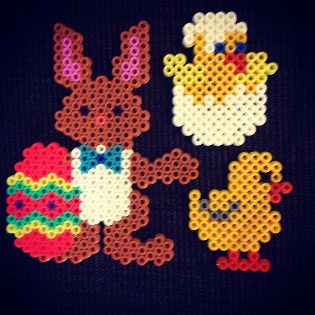 Easter hama beads by karina_oeh