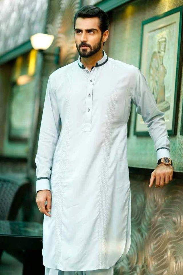 Chen One Menswear Kurta Collection 2014 | Chen One - Damask Men's Eastern Kurta Designs
