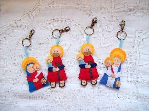 São Cristóvão: São Benedito, São Bento, São Judas, Are Jorge, São Cristóvão, San Francisco