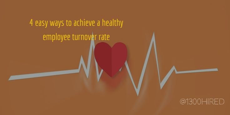 Higher #turnover can disrupt and cause significant financial #losses. Read this post and maintain a healthy #employee turnover #rate. #success #tips #jobs