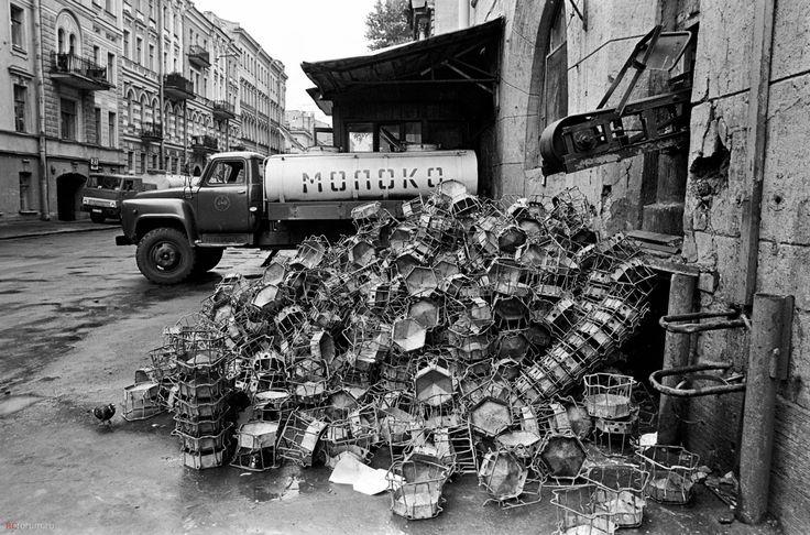 Автоцистерна АЦПТ-3,3. Ленинград. Молокозавод. 1987 год