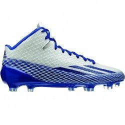 Adidas Adizero 5 Star 3.0 Mid Mens Football Cleats G98761 White-Royal-Platinum