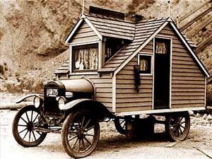 House on Wheels - 1920's