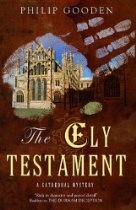 "The Ely Testament (Cathedral Mysteries) #PhillipGooden. ""When Mr Lye, an elderly partner at Tom Ansell's law firm, drops dead at his desk, Tom is dispatched to Ely to search for Mr Lye's will at Phoenix House, the home of his brother, Ernest. At the same time, Tom's wife Helen has been commissioned by ""New Moon ""magazine to write a piece on a town with 'inner beauty' - and what better place than Ely? But shortly after they arrive at Phoenix House, their host is arrested for murder"