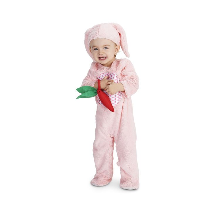 Halloween Little Bunny Baby Costume - 12-18 Months, Infant Girl's, Size: 12-18 M, Pink