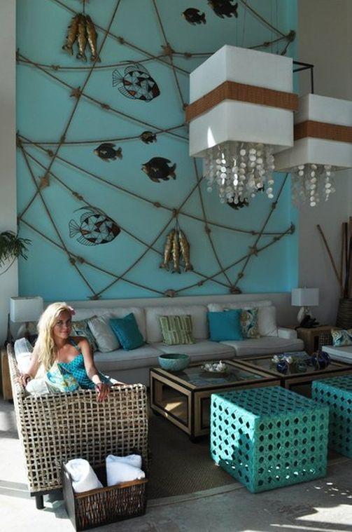 nautical style interior, marina style