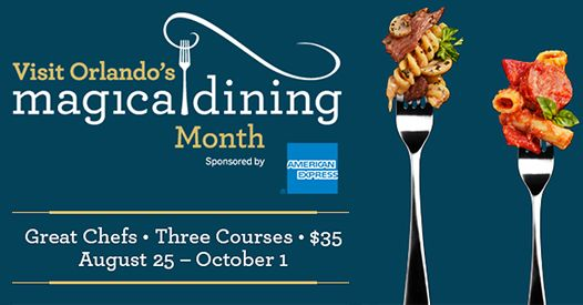 Visit Orlando Magical Dining Month | Restaurant Month