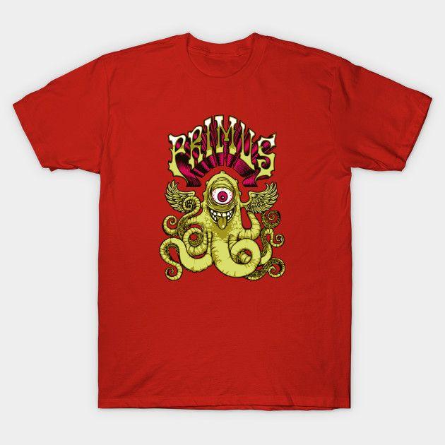 PRIMUS - OCTOFUN PRIMUS - OCTOFUN T-Shirt PRIMUS - OCTOFUN 2392203 0 2392203 0  Primus Octofun T-Shirt Design by cowfishdiva  PRIMUS, Band, Music, Octo, Octopus, Underwater, Artist, Musician