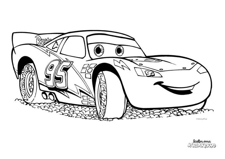 salama mcqueen coloring pages - photo#10