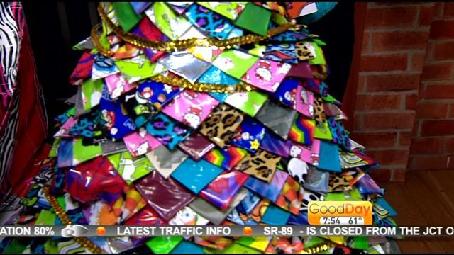 Watch Sticky Fingers: DIY Duct Tape Projects author Sophie Maletsky on Good Day Sacramento as she explains how to make duct tape creations for back to school and more!