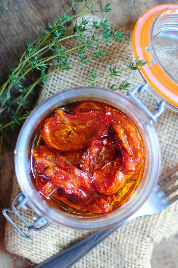 Tomates Confites à l'Huile d'Olive #végétal #recette #faitmaison