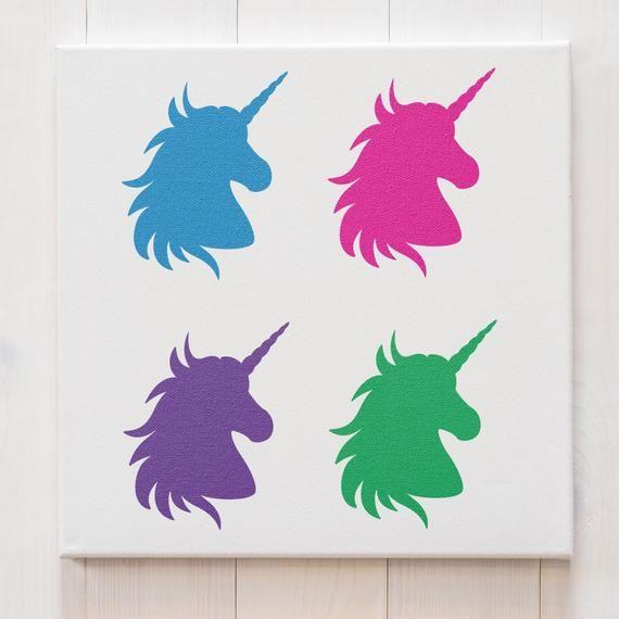 Card making Unicorn stencil,Stencil Airbrush Craft Stencil