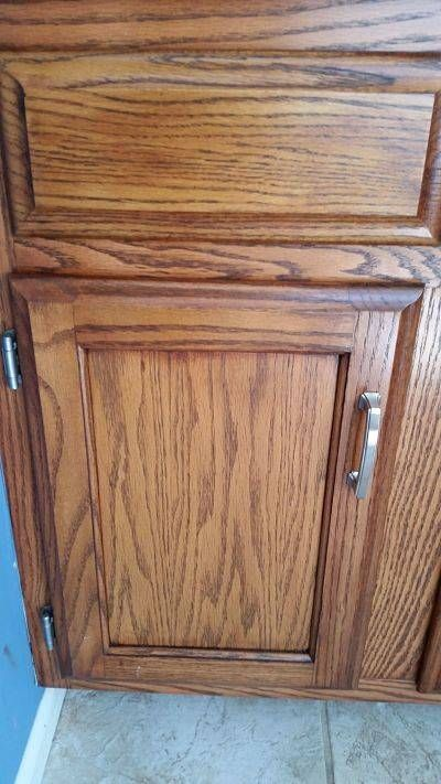 Kitchen Cabinets General Finishes Gel Stain Brown Mahogany