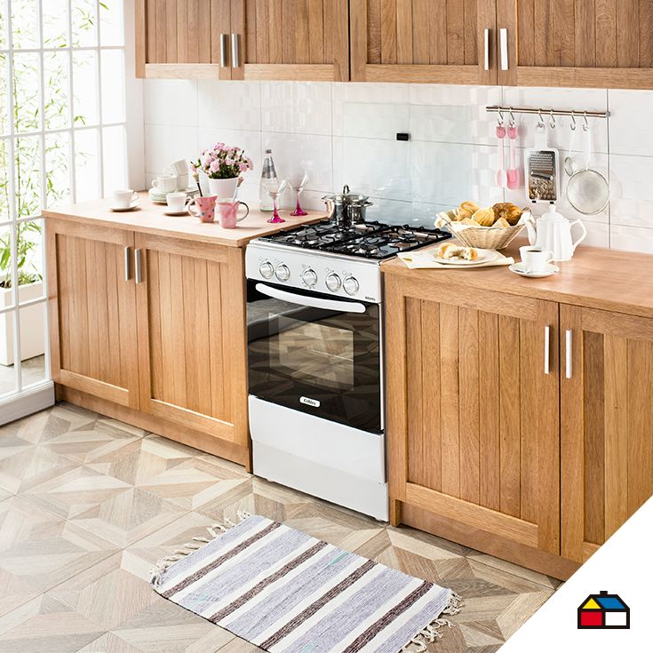 13 best cocinas perfectas images on pinterest kitchens for Decoracion hogar sodimac