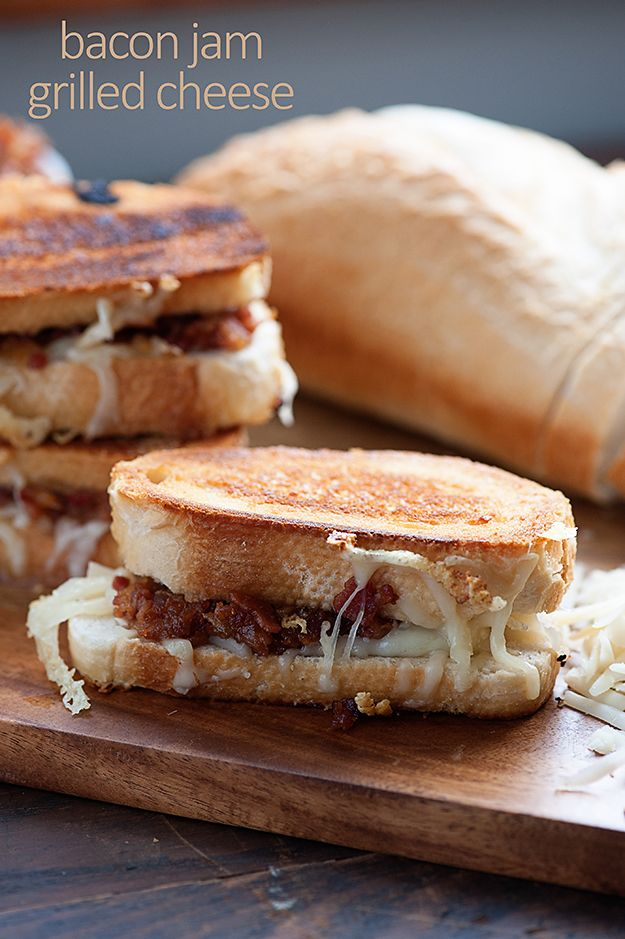 jam grilled cheese grilled cheese sandwiches grilled cheeses bacon jam ...
