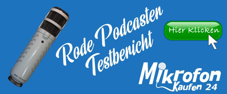 Rode Podcaster Test 2017