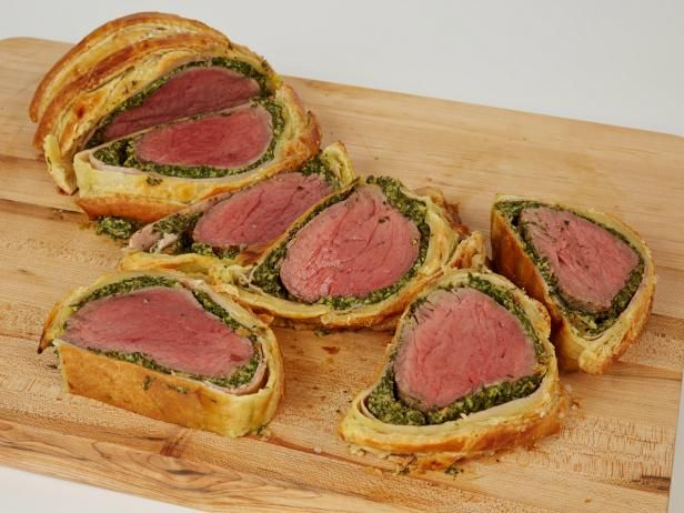 Get Food Network Kitchen's Spinach Artichoke Beef Wellington Recipe from Food Network