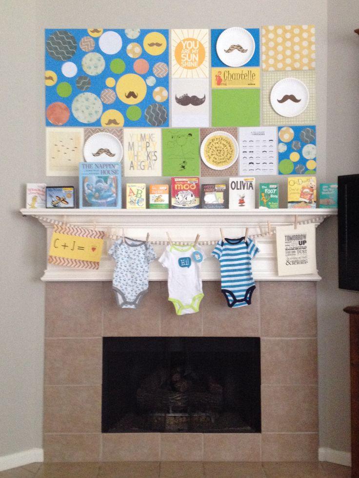 Boy Baby Shower Decoration Ideas Pinterest