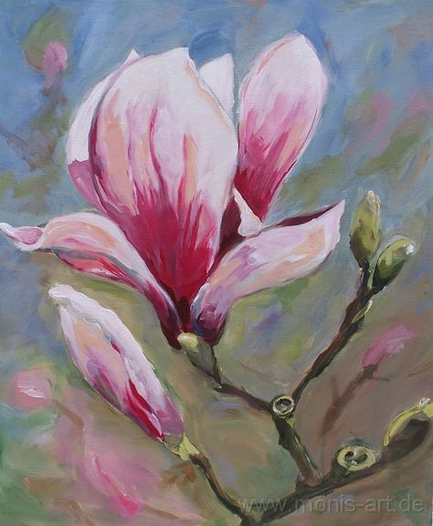 Pin von Stieben Albina auf Öl malerei  Blumen malen acryl