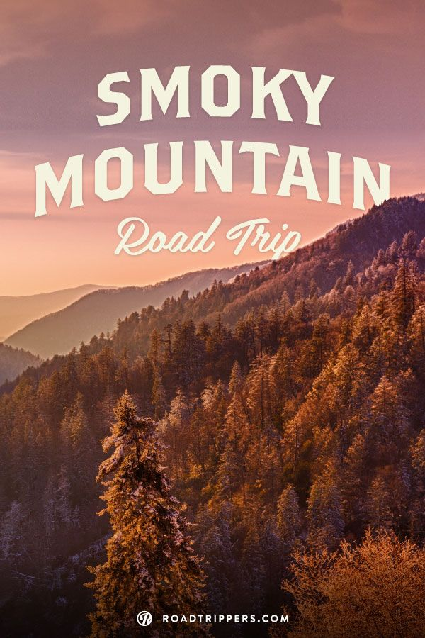Smoky Mountains, North Carolina/Tennessee. A subrange of the Appalachian Mountains, the Smokies are a mountain range along the North Carolina–Tennessee border.