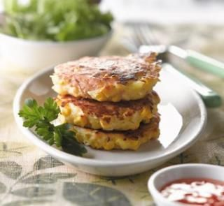 Chicken and Corn Rosti