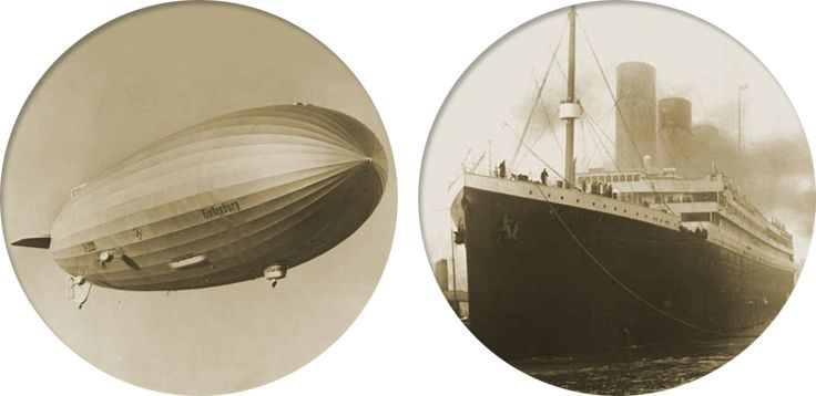 FIRE & ICE: HINDENBURG AND TITANIC at @Postal Museum