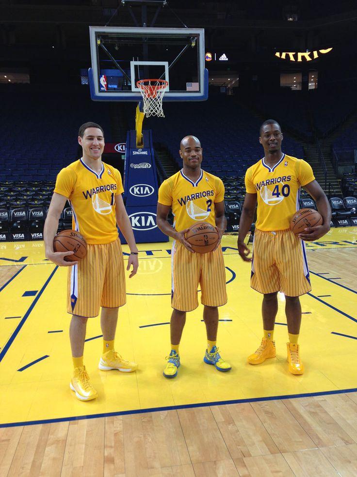 Klay Thompson, Jarrett Jack, and Harrison Barnes are excellent models