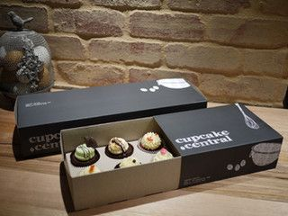 Cupcake Packaging- similar to Lola's but neutral color pallet