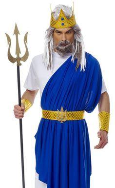 diy poseidon costume - Google Search