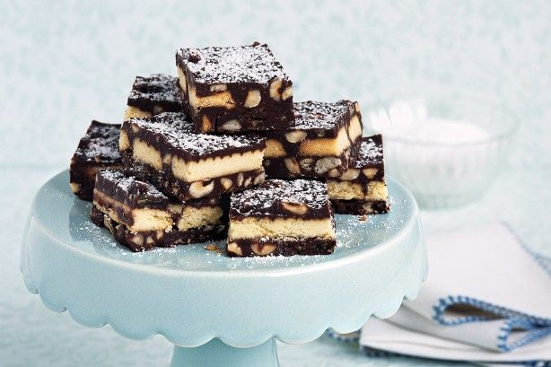 Lots of dark chocolate makes this fete classic more grown-up, but will still evoke childhood memories for many of us!