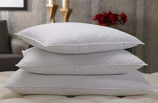 A comfortable pillow is the essential ingredient to ensure you have a restful night's sleep. When it comes to pillows, the Marriott Feather & Down Pillow always comes out on top with our firm inner core that is wrapped with luxuriously soft and allergen-free down, so your head and neck are supported all night long. Our Feather & Down Pillows are machine washable, with a cotton cover that wicks moisture away to keep your skin cool. Pair it with the Marriott pillow protector and you will have…