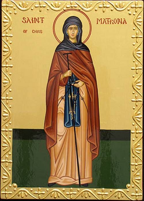 Our Holy Mother Matrona