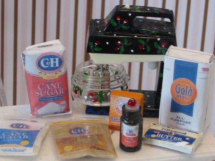 33 best images about fun doll crafts tutorials on for Kitchen craft baking supplies