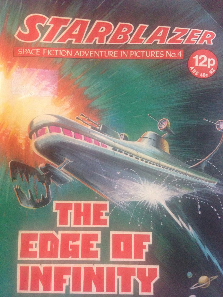 Memories of Starblazer #scifi #geek